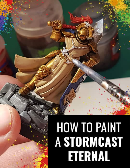How to Paint A Stormcast