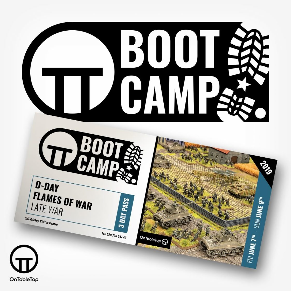 Boot Camp 2019 D-Day Flames of War