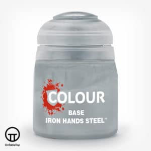 Base: Iron Hands Steel (12ml)
