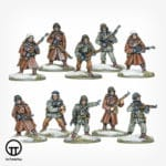 US Army Infantry Squad in Winter Clothing Miniatures 402213003