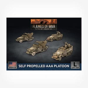Self Propelled M15/M16 GMC AAA Platoon