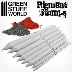 Set 8x Pigment Blending Stumps