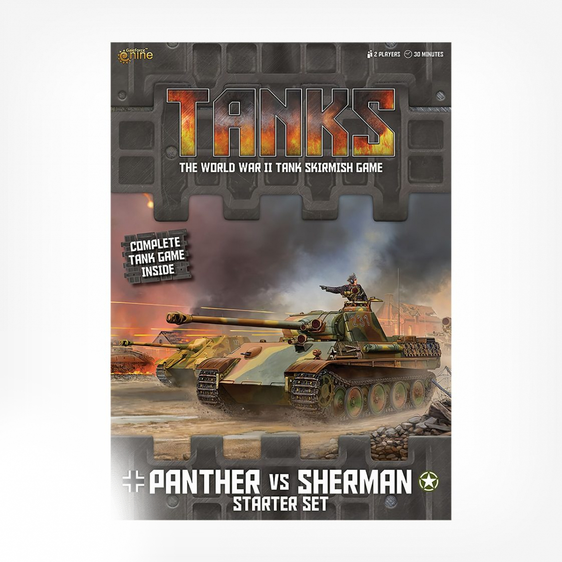 TANKS01-Tanks-Panther-vs-Sherman-Starter-Box