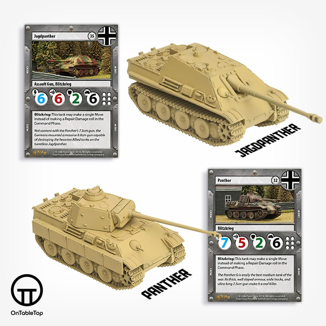 TANKS01-Tanks-Panther-vs-Sherman-Starter-Box-German