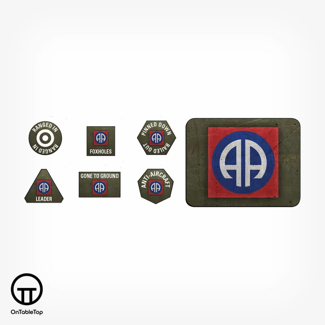 OTT-82nd-Airborne-Division-Tokens-&-Objectives-US905