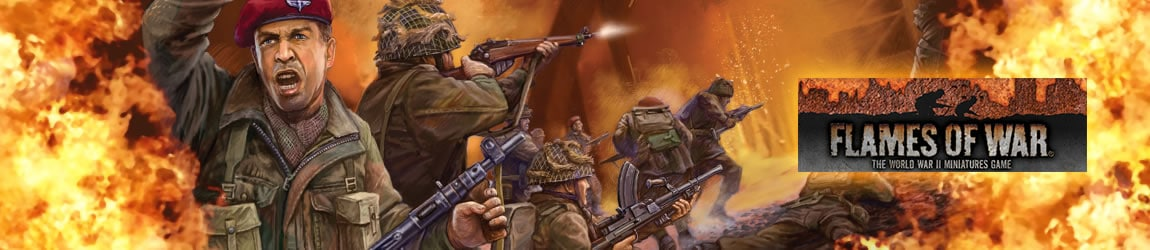 Flames of War Art