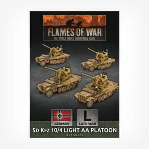 SdKfz 10/4 Light AA Platoon (x4)