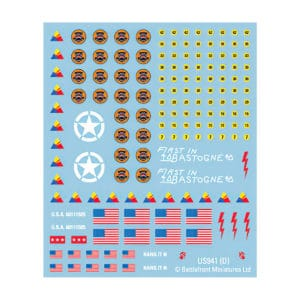 American Decals (Late War)