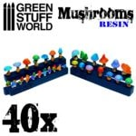 40x Resin Mushrooms and Toadstools GSW-2049