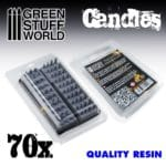 70x Resin Candles GSW-2104