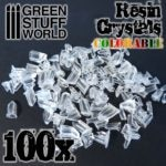 Resin Crystals Transparent Colorables GSW-1677