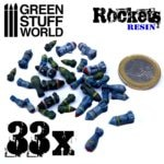 Resin Rockets and Missiles GSW-1693