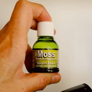 Moss Effect Water Soluble Paint (25ml)