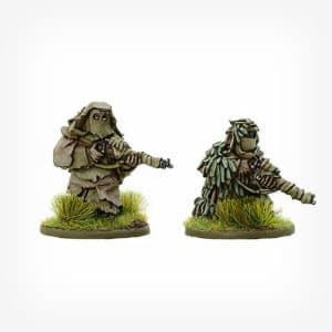 British Snipers in Ghillie suits