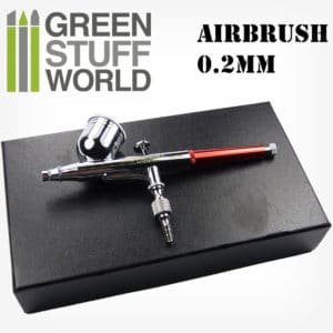 Dual-Action GSW Airbrush 0.2mm