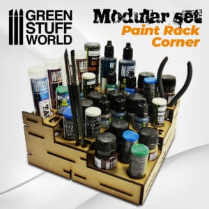 Modular Paint Rack - Straight Corner