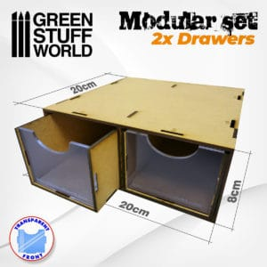 Modular Set 2x Drawers