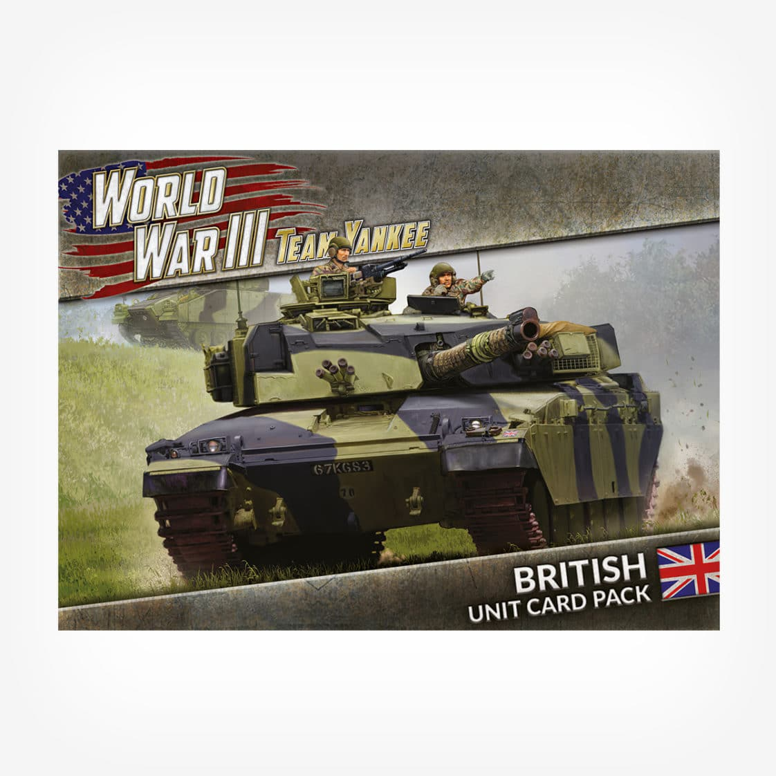 WWIII: British Unit Card Pack