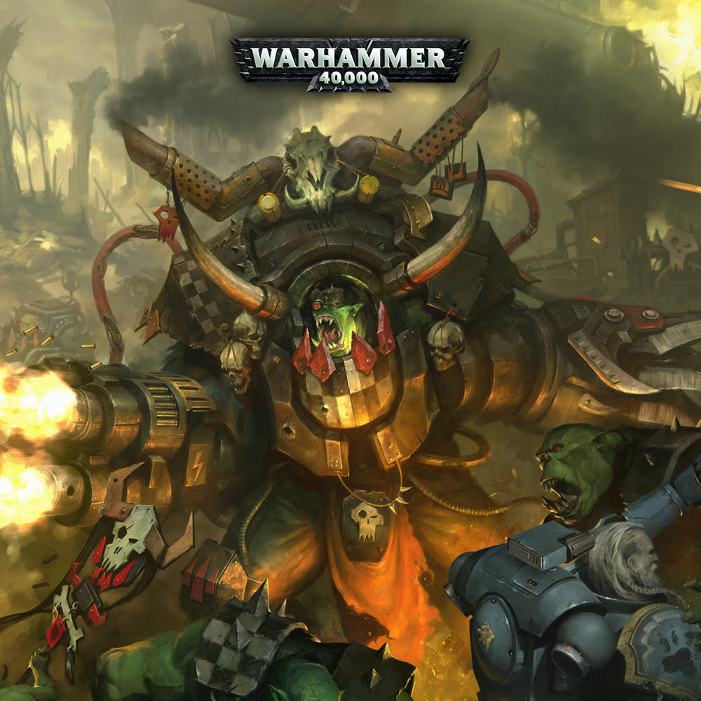 Warhammer 40000: Prophecy of the Wolf - Ghazghkull Thraka