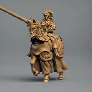 Female Paladin - 3D Printable Miniature