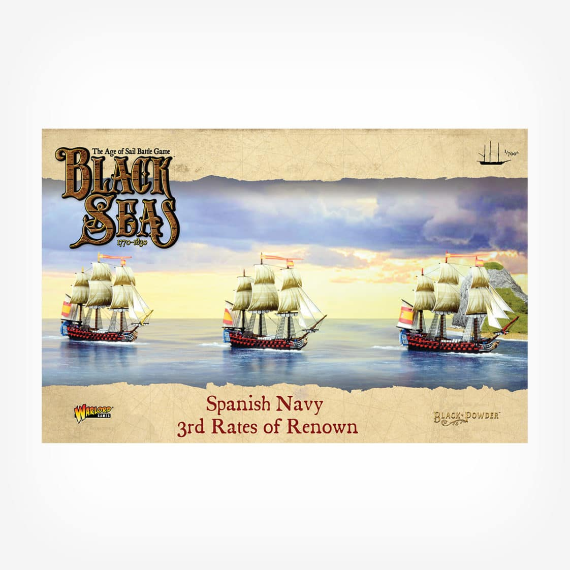 Spanish Navy 3rd Rates of Renown