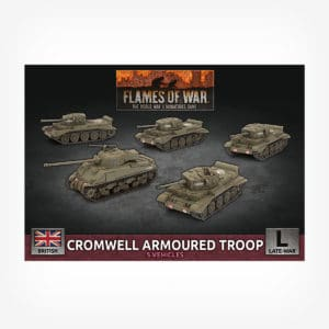 Cromwell Armoured Troop (x5 Plastic)