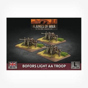Bofors Light AA Troop (x3 Plastic)