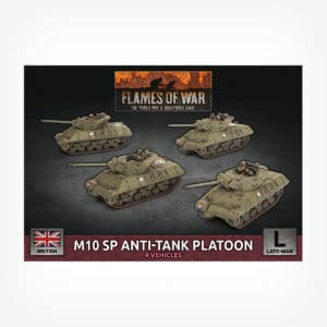 M10 SP Anti-Tank Troop (x4 Plastic)