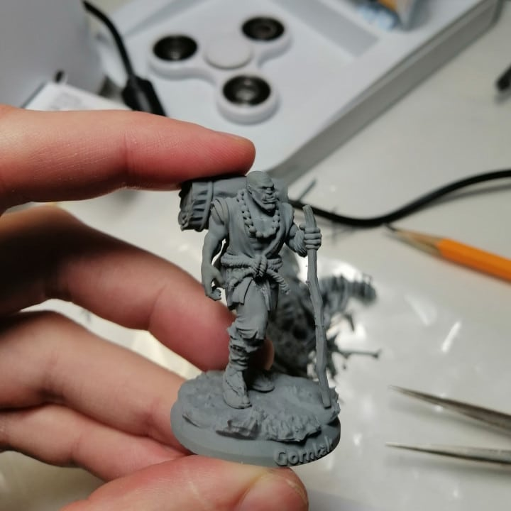 Gorntak the Gentle – 3D Printable Miniature