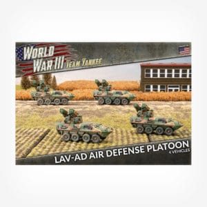 LAV-AD Air Defense Platoon (x4 Plastic)