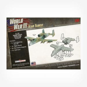A-10 Warthog Fighter Flight (x2 Plastic)