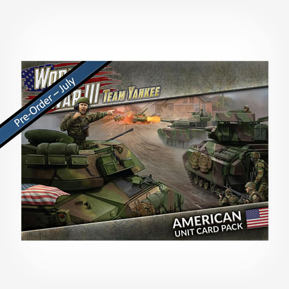 WWIII: American Unit Card Pack