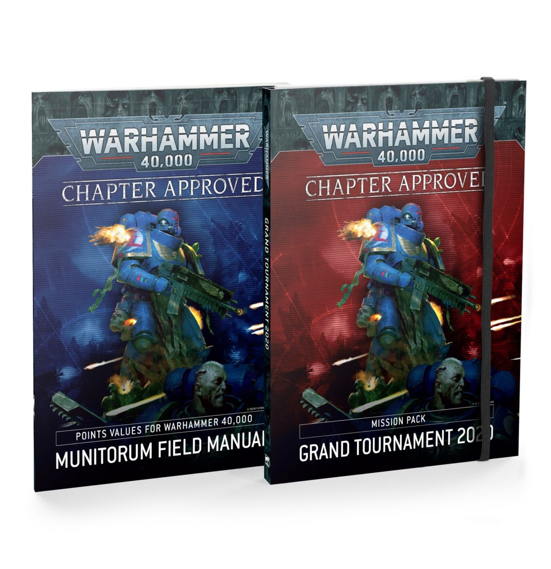 Warhammer 40000: Chapter Approved - Grand Tournament 2020 Mission Pack and Munitorum Field Manual (English)