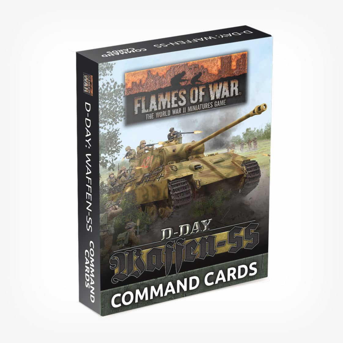D-Day: Waffen-SS Command Card Pack