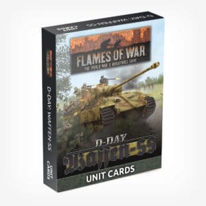 D-Day: Waffen SS Unit Card Pack
