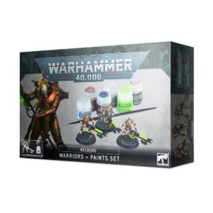 Necrons Warriors + Paint Set