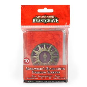 WH Underworlds: Morgwaeth's Blade-coven Premium Sleeves