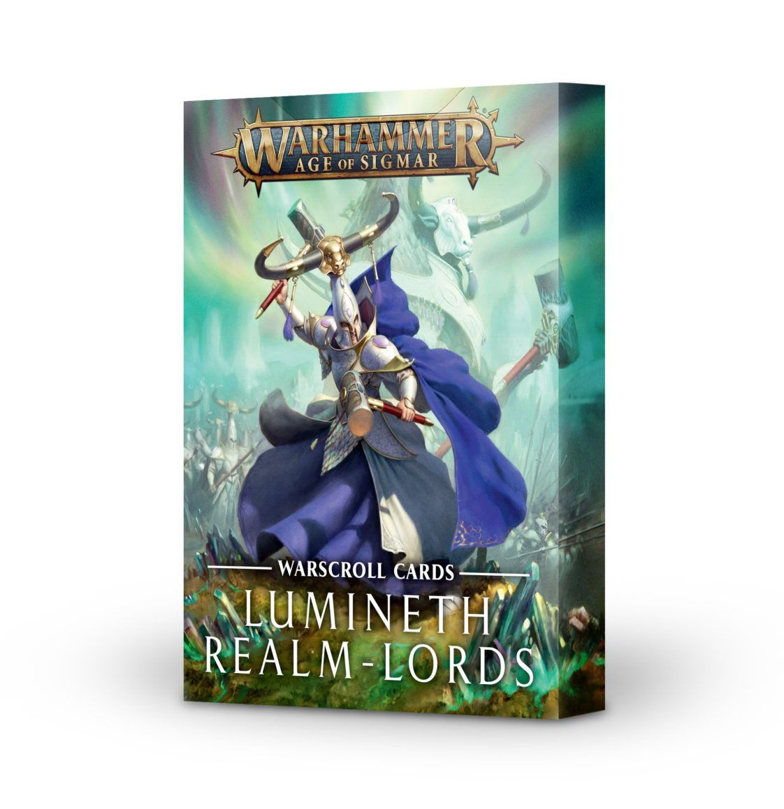 Warscroll Cards: Lumineth Realm-lords (English)