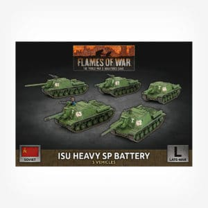 ISU Heavy SP Battery (x5 Plastic)