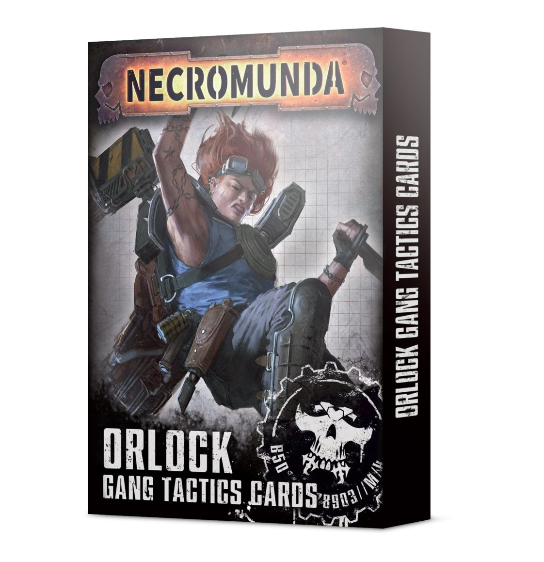 Necromunda: Orlock Gang Tactics Cards