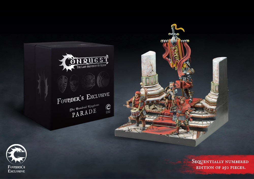 Hundred Kingdoms: Parade Retinue Founder's Exclusive Edition