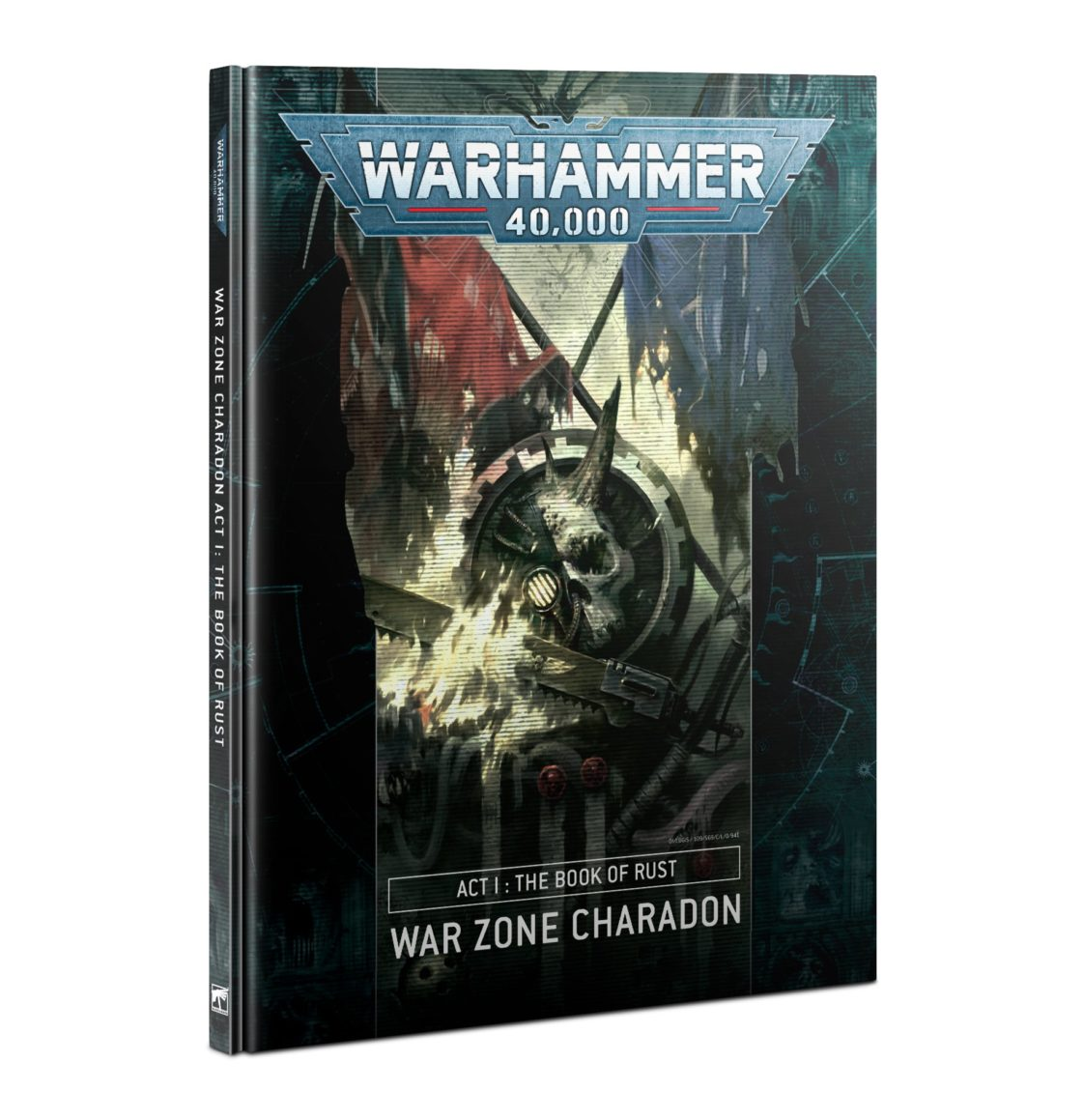 War Zone Charadon: Act 1 - Book of Rust (HB) (English)