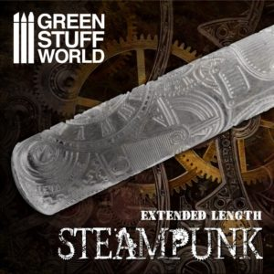 Textured Rolling pin - Steampunk