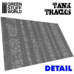 Textured Rolling pin – Tank Tracks