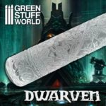 Textured Rolling pin – Dwarven