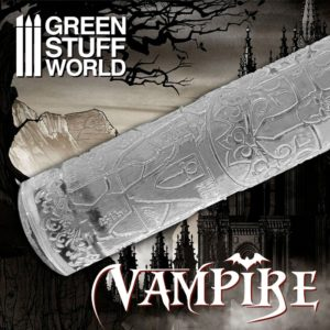 Textured Rolling pin - Vampire