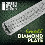 Textured Rolling pin – Diamond Plate – Small