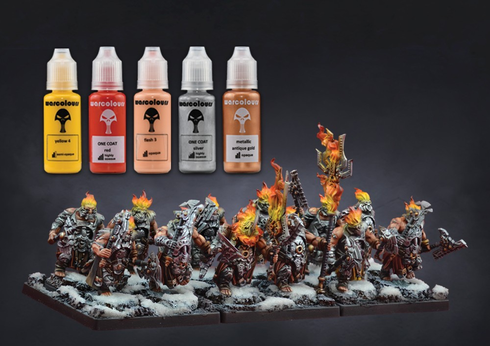 Rage X Fire - Collab with Warcolours