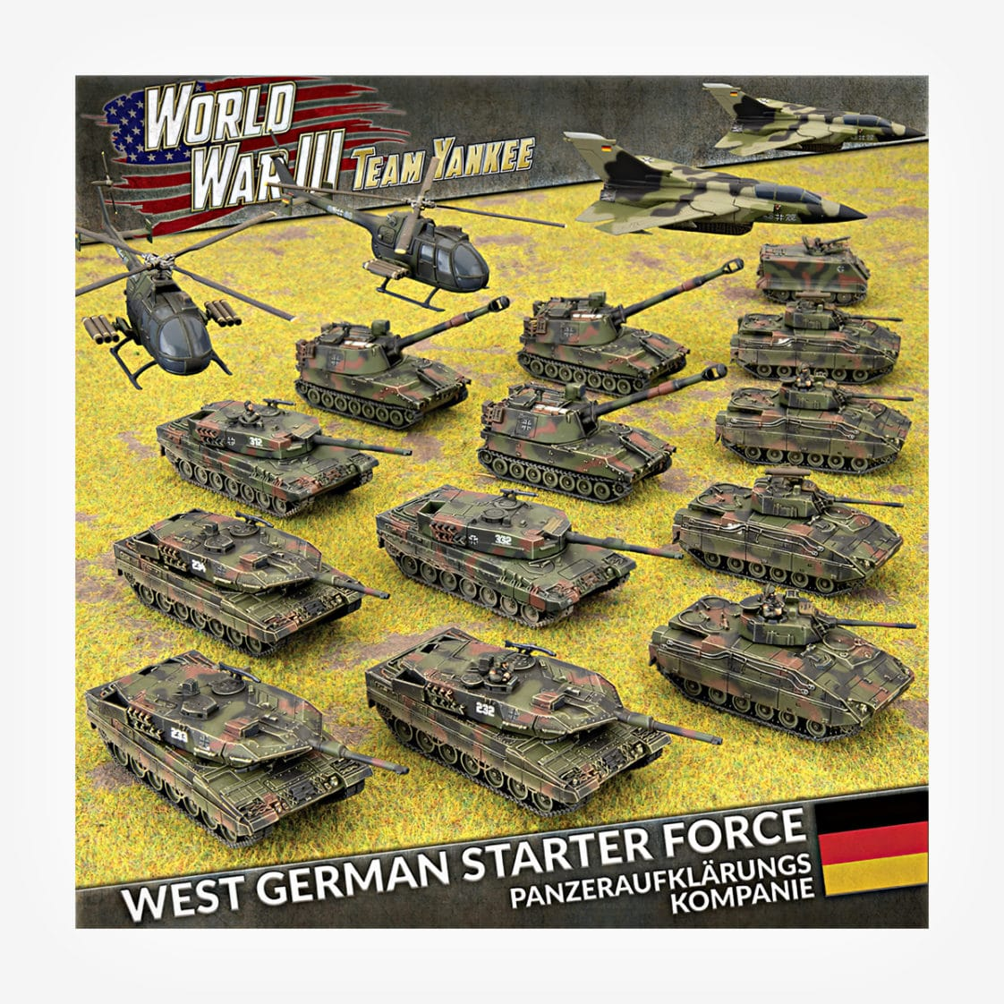 WWIII: West German Starter Force - Panzeraufklärungs Kompanie