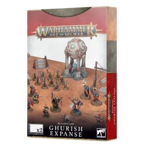Age of Sigmar Realmscape: Ghurish Expanse